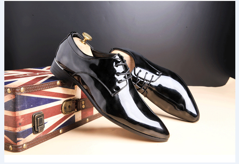 Shadow Patent Leather Shoe