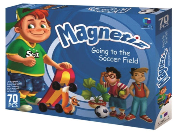 Magnetiz Going to the Soccer Field 70 Pc.