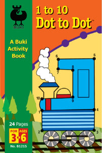 Buki Activity Book 1 to 10 to Dot