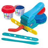 PLAY DOUGH EXTRUDER (2 Colors of Play Dough Included)