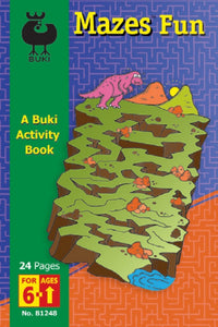 Buki Activity Book Fun Mazes