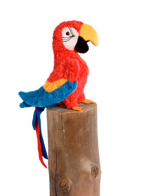 Douglas Cuddle Toys GABBY RED PARROT