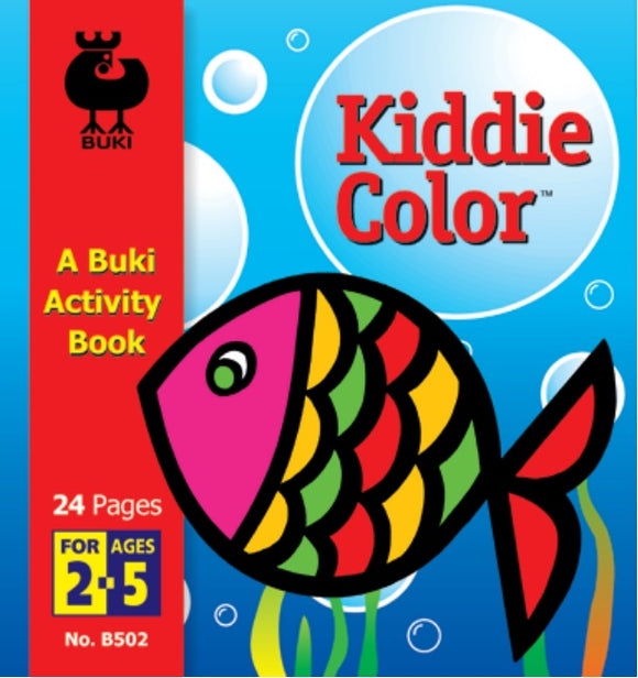 Buki Activity Book Kiddie Color