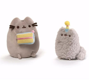 Gund Pusheen and Stormy Birthday Collectible Set #1