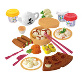 PLAY DOUGH DIM SUM SET (3 Colors of Play Dough Included)