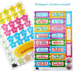 EduKid Toys MAGNETIC CIRCUS REWARDS CHART