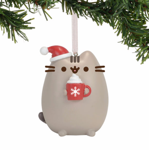 Gund Pusheen Meowy Christmas Ornament 2.75