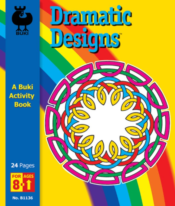 Buki Activity Book Dramatic Designs