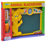 Animal Blackboard with Clock by Megcos ~NEW~