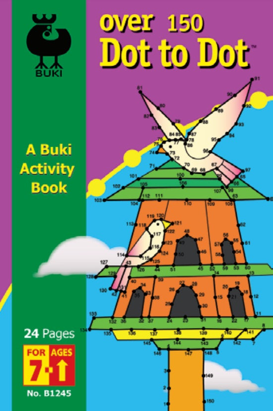 Buki Activity Book Over 150 Dot to Dot
