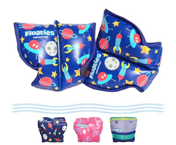 Floaties ARMBANDS ARM BAND BOYS ROCKET LARGE