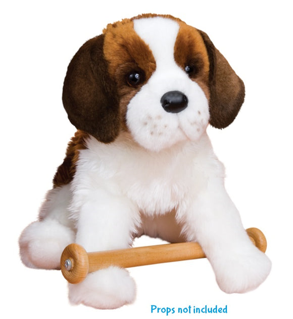 Douglas Cuddle Toys  OMA the SAINT BERNARD DOG