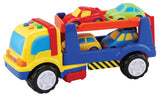 Car Transporter w/ Detachable Trailer & Cars by Megcos