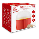 Zap Chef POPPIN' CORN POPCORN MAKER, RED