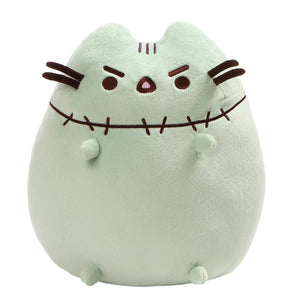 GUND Pusheen Zombie Halloween Cat Plush Stuffed Animal, Green, 9.5""