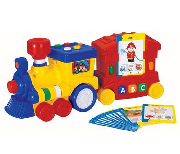 Megcos Toys Interactive Musical Learning Train ~NEW~
