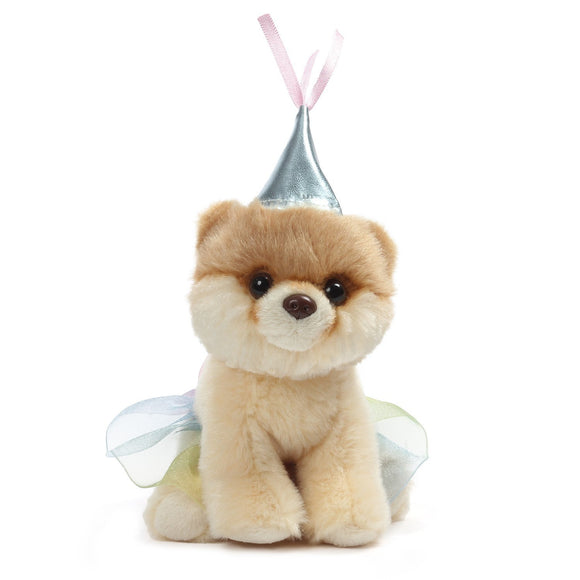 "Gund World's Cutest Dog Itty Bitty Boo #46 Princess Plush, 5"" , Silver"