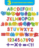 EduKid Toys Foam Magnetic Letter 123 Pcs Rectangular Container