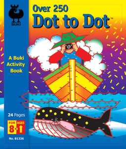 Buki Activity Book Dot to Dot Over 250