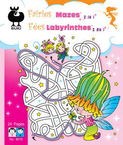 Buki Large Activity Book MAZES