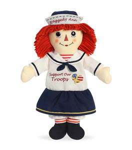 "Aurora World 16"" Support Our Troops Raggedy ANN"