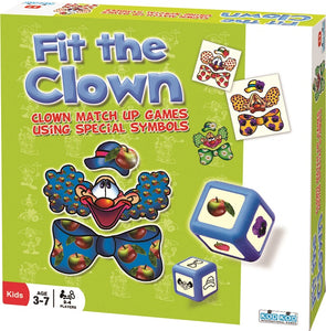 Kodkod ''Fit The Clown'' Fun Educational Game -Affordable Gift for your Little One! Item #LMID-9484