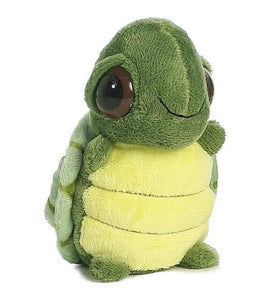 "Aurora World Dreamy Eyes 5"" Turtle with Bubble Sound Plush"