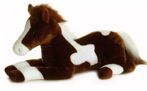 Aurora World Plush Paint Horse Super Flopsie - 28