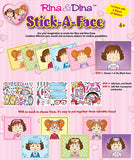 Rina & Dina STICK-A-FACE