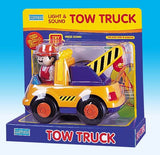 Megcos Toys Light and Sound Tow Truck  ~BRAND NEW~