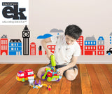 EduKid Toys EASY BUILD & PLAY POWER TOOL SET, BIKE & FIRE TRUCK