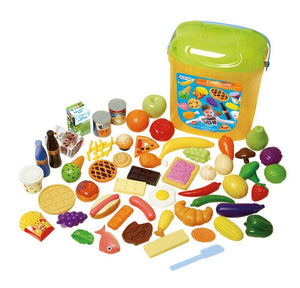 Playgo Food Case, 60-Piece