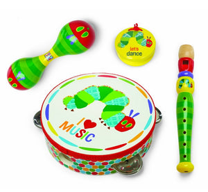 """Kids Preferred The World of Eric Carle: The Very Hungry Caterpillar Instrument Gift Set, Boxed"""