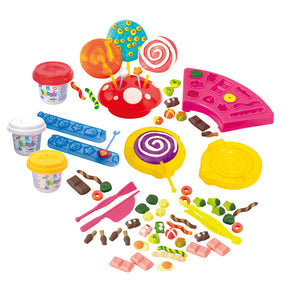 PLAY DOUGH CANDY SET (3 Colors of Play Dough Included)