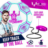 Messi Pro Training Ball Size 3 Girls (White)