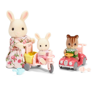 Calico Critters APPLE/JAKE'S RIDE 'N PLAY