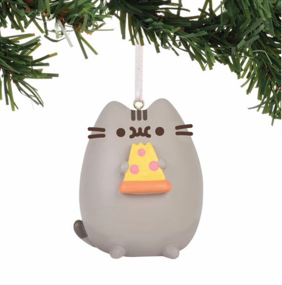 Gund Pusheen I Love Pizza Ornament 2.5