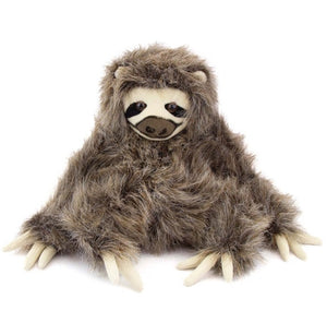 """Fiesta Toys Plush 9.5"""" SITTING THREE TOED SLOTH"""
