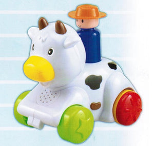 Megcos Press 'N Go Animal : Cow