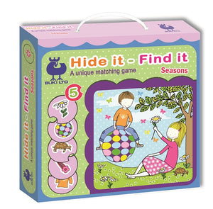 Hide it - Find it Matching Game by Buki