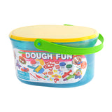 PLAY DOUGH FUN IN A CARRY CASE (4 Colors of Play Dough Included)