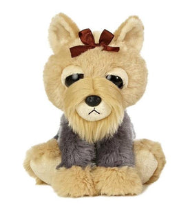 "Aurora World Dreamy Eyes Teensy Fansy 10"" Dog Plush"