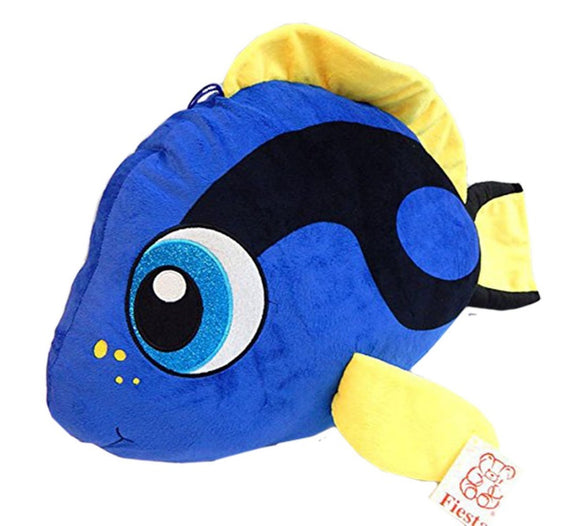 Fiesta Toys Tang Fish Plush Stuffed Animal Toy Blue - 21 Inches
