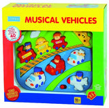 Megcos Toys Musical Vehicles Player Toy ~BRAND NEW~