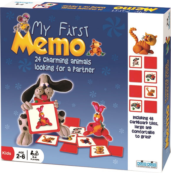 My First Memo Memory Game by Kod Kod
