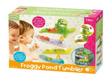 FROGGY POND TUMBLER Bath Toy by Playgo PG1935 PG1937