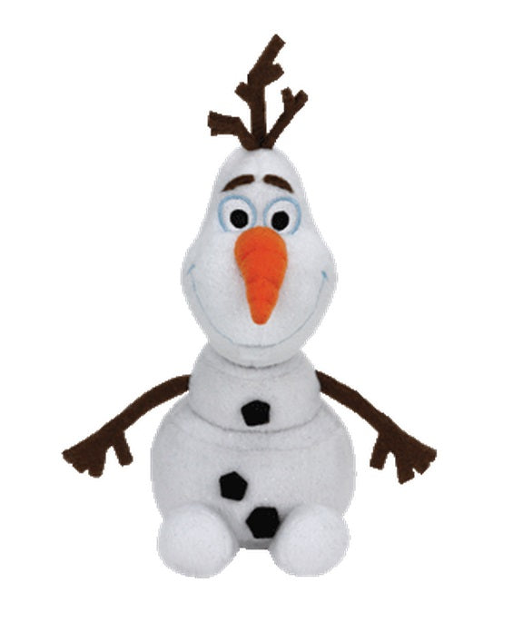 Ty Disney Frozen Beanie Buddies OLAF the SNOWMAN (Medium)