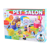 PLAY DOUGH PET SALON (4 Colors of Play Dough Included)