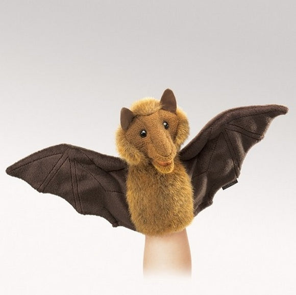 Folkmanis Puppets Plush Little Bat Hand Puppet