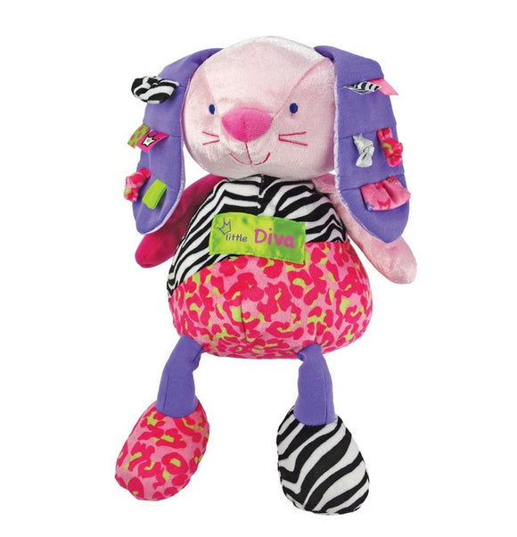 Kids Preferred Little Diva Plush Bunny